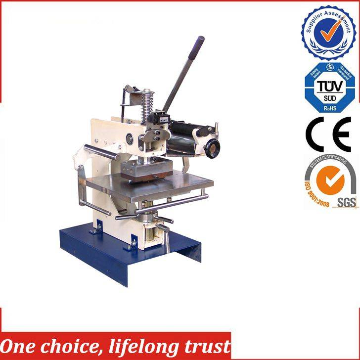TJ-1 manual hot foil stamping machine for toilet soap