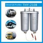 Electric-heating diesel oil filters