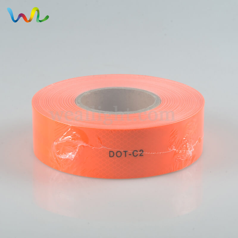 Red Reflective Tape, DOT C2 Reflective Tape, Trailer Reflective Tape
