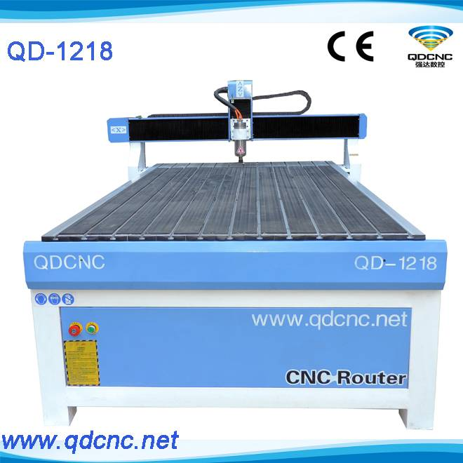 25% discounted Advertising cnc router/3d cnc engraving router for PVC board QD-1218