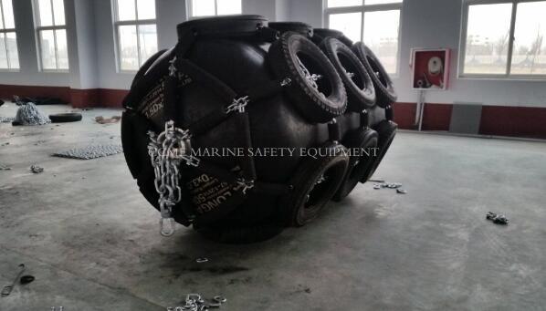 Marine pneumatic rubber fenders