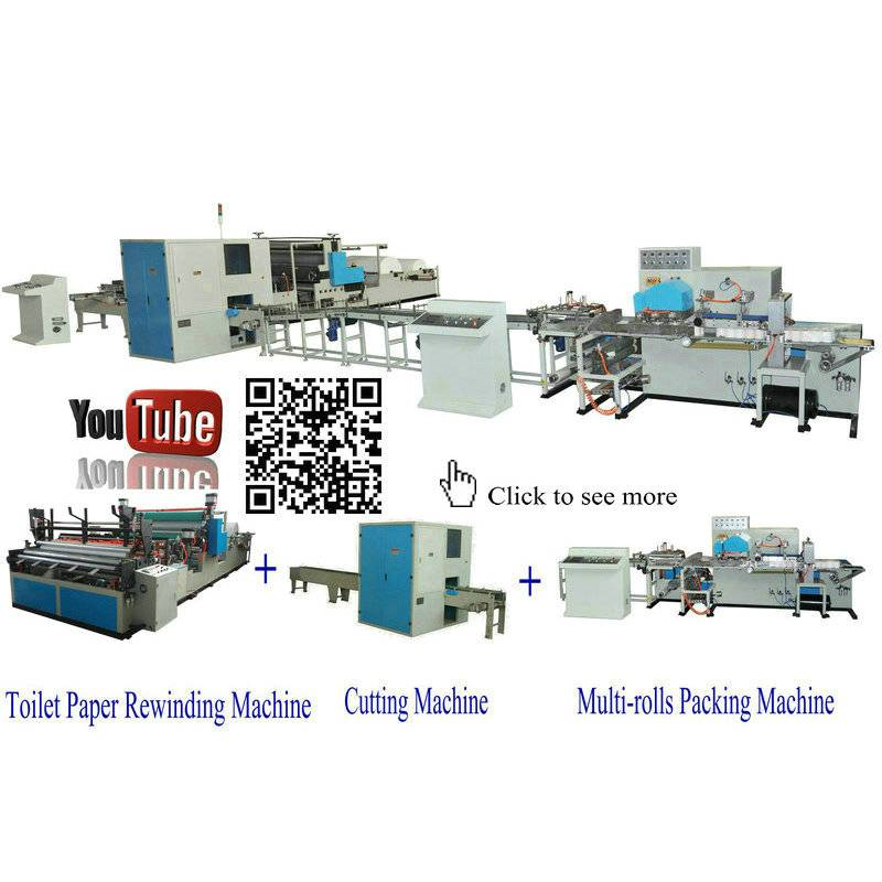 XY-TQ-A-A Full automatic small toilet paper roll production line