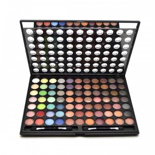 77 Colour Eyeshadow Palette Paintbox with Applicators
