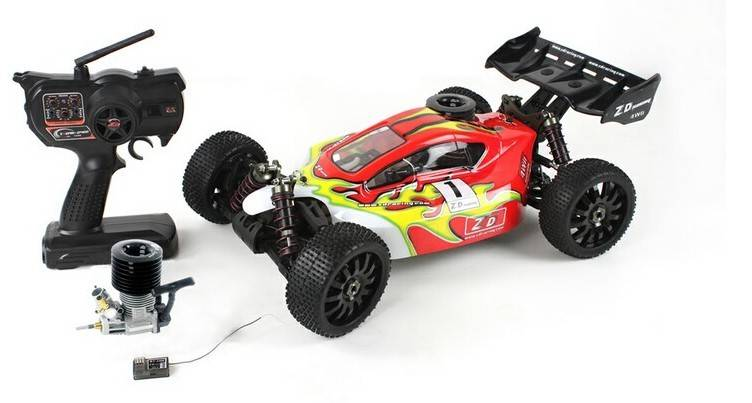 ZD Racing 9003 4WD 1/8 Scale Standard Version Nitro Buggy (RTR)