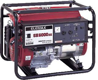 Elemax generator (SH6000DX)