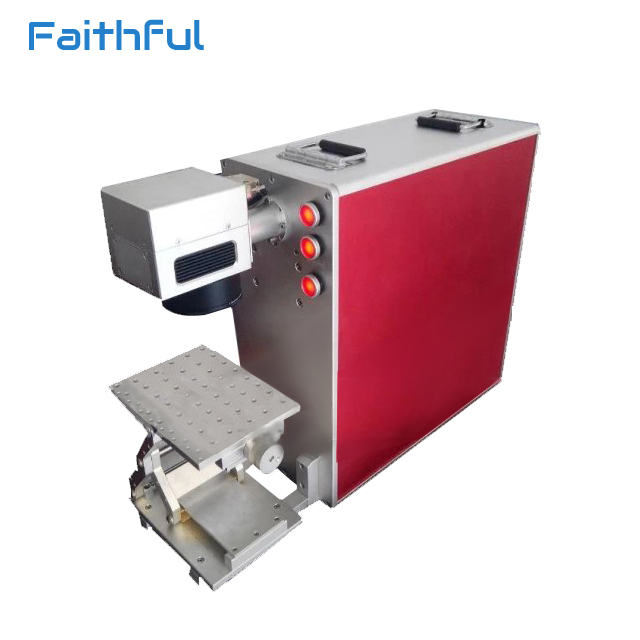 Cheap 30w aluminum multi-function fiber laser metal marking machine