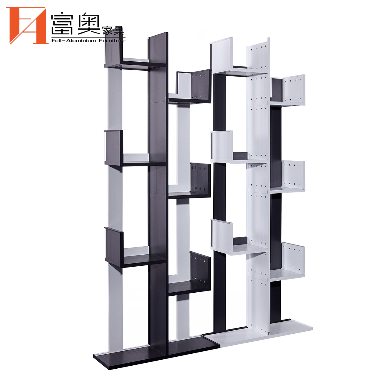 Whole Aluminum Living Room Furniture Bookcases