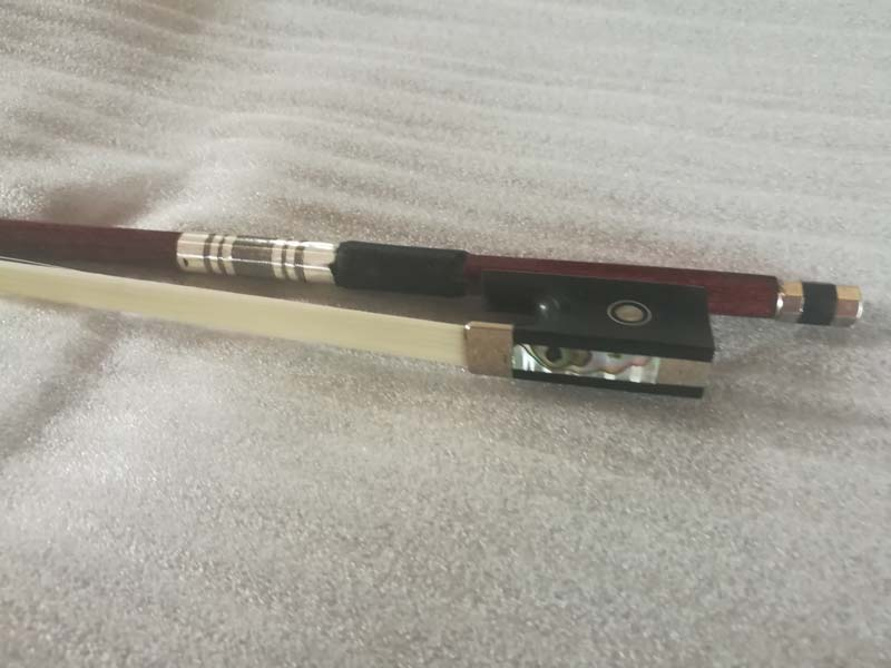 Hybrid carbon fiber violin bow