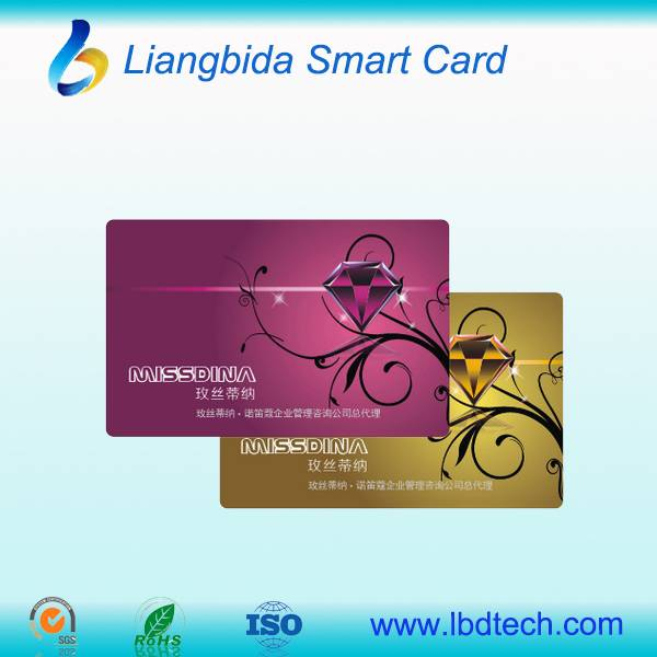 High Quality Printed PVC card membership/business card
