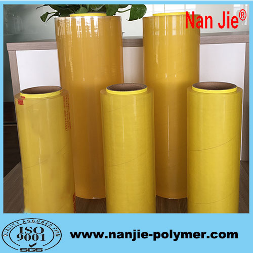 Nan Jie big rolls machine cast pvc food stretch film rolls
