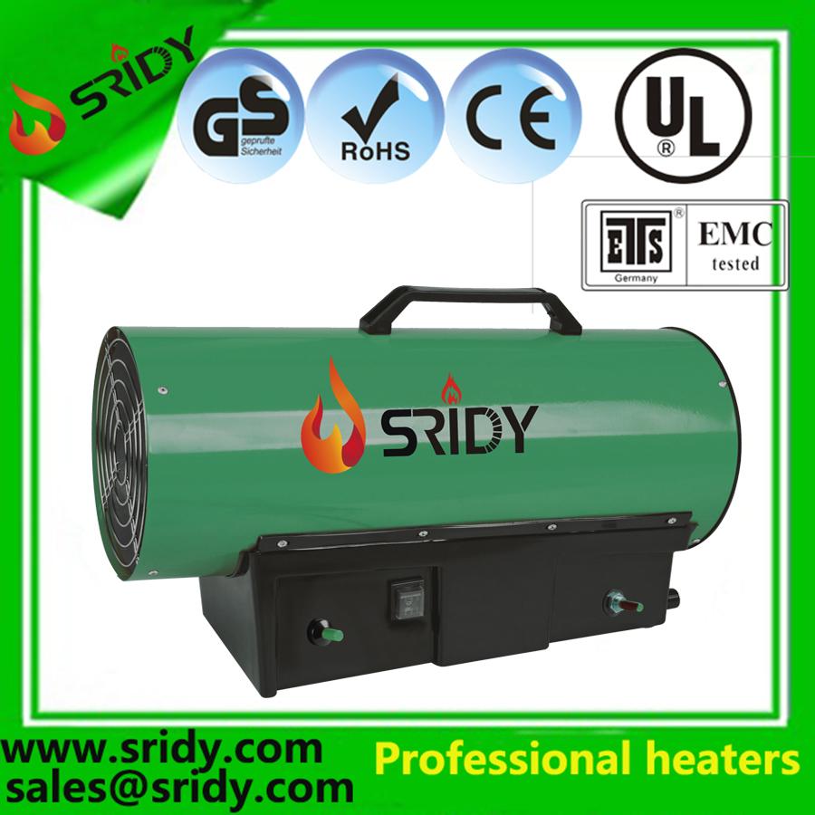 10kw 20kw 30kw 40kw Industrial Fan Gas Heater Electric Workshop Space Propane/LPG Power Garage Heat
