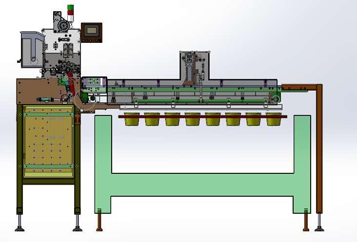 cup noodle bowl noodle dispenser machine for sealing line