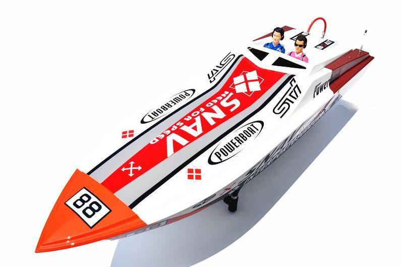 """46"""" 26cc Gas Boat, RC Boat Model (G26A)"""