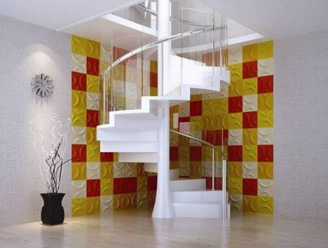 ecl-friendly construction material, wallpapaer