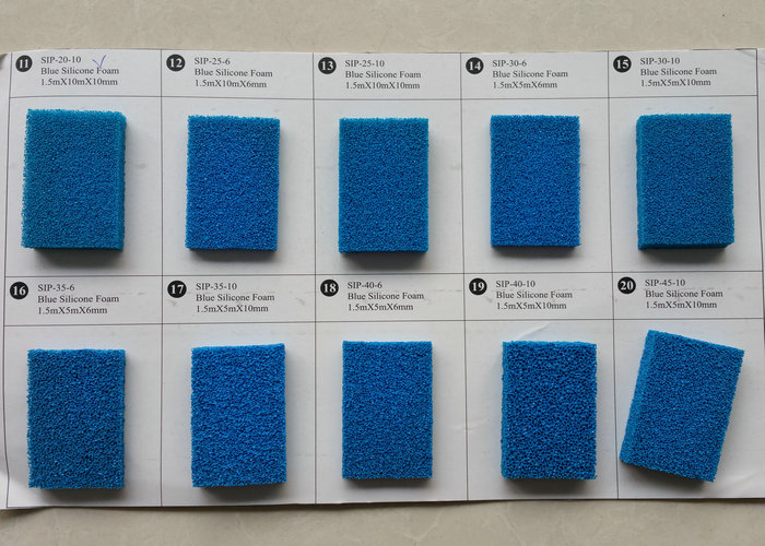 Colorful Silicone Foam Rubber Sheet, Silicone Sponge Rubber Sheet