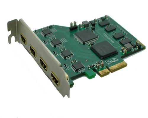 4ch HDMI video capture card, 4 channales input