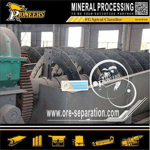 Mineral Spiral Separator Spiral Classifier Matching with Ball Mill