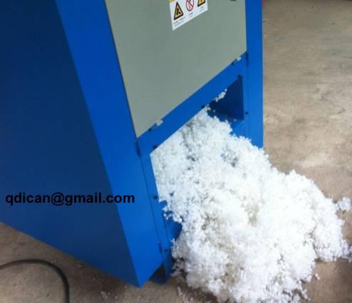 Polyester ball fiber making machine