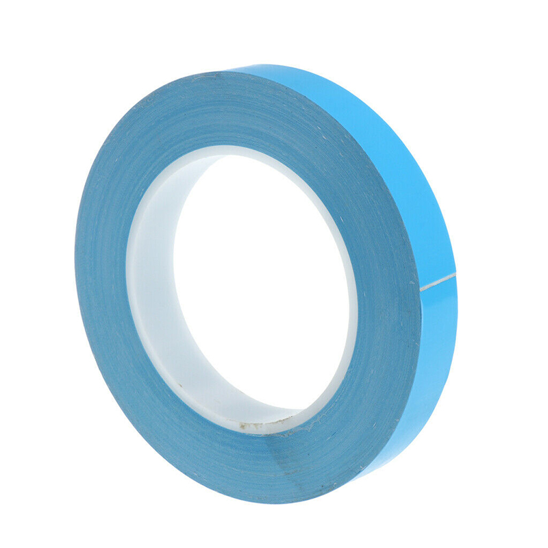 25Mx20mmx0.25mm Thermal Adhesive Tape,High Performance Thermally Double Side Tapes Cooling Pad Apply