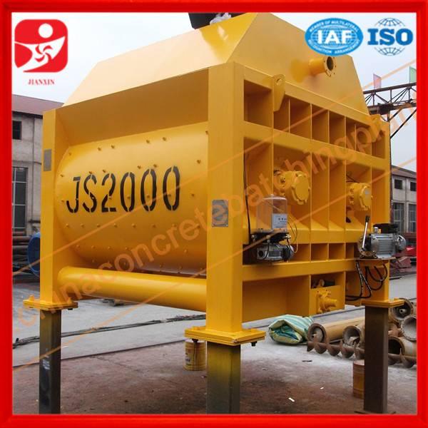 China professional manufacturer JS2000 concrete mixer
