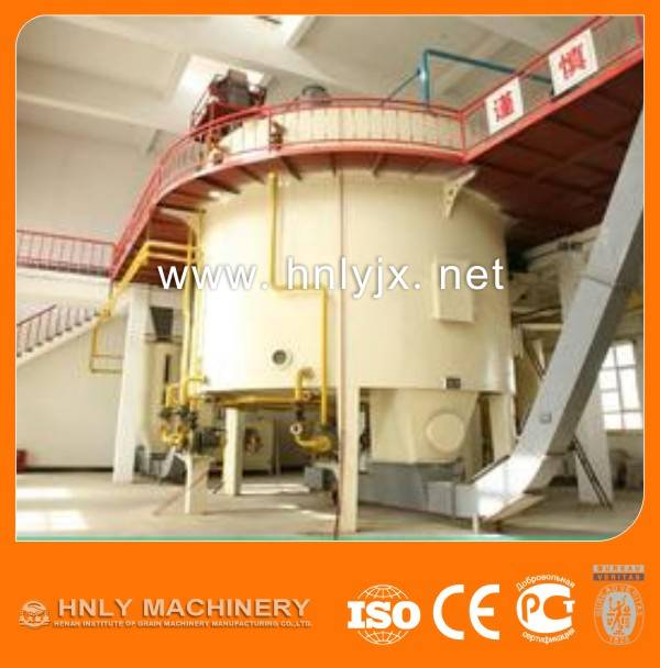 High Oil Yield Rice Bran Oil Production Line