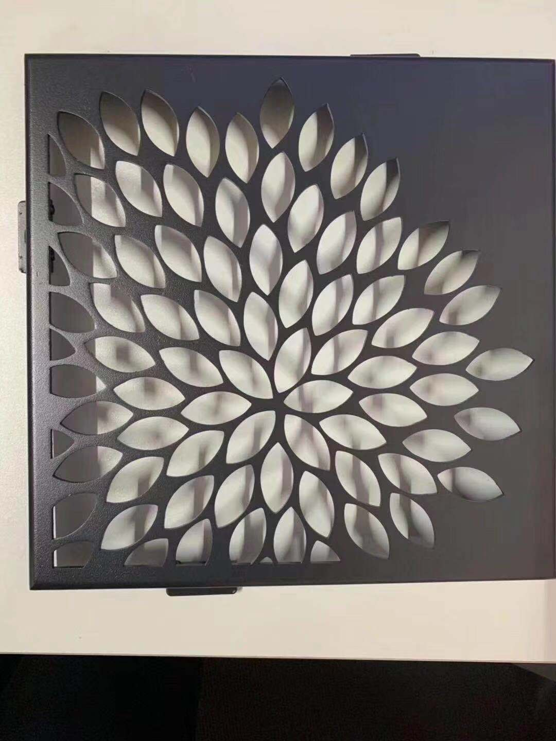 aluminum CNC cutting laser wall panels for decoration