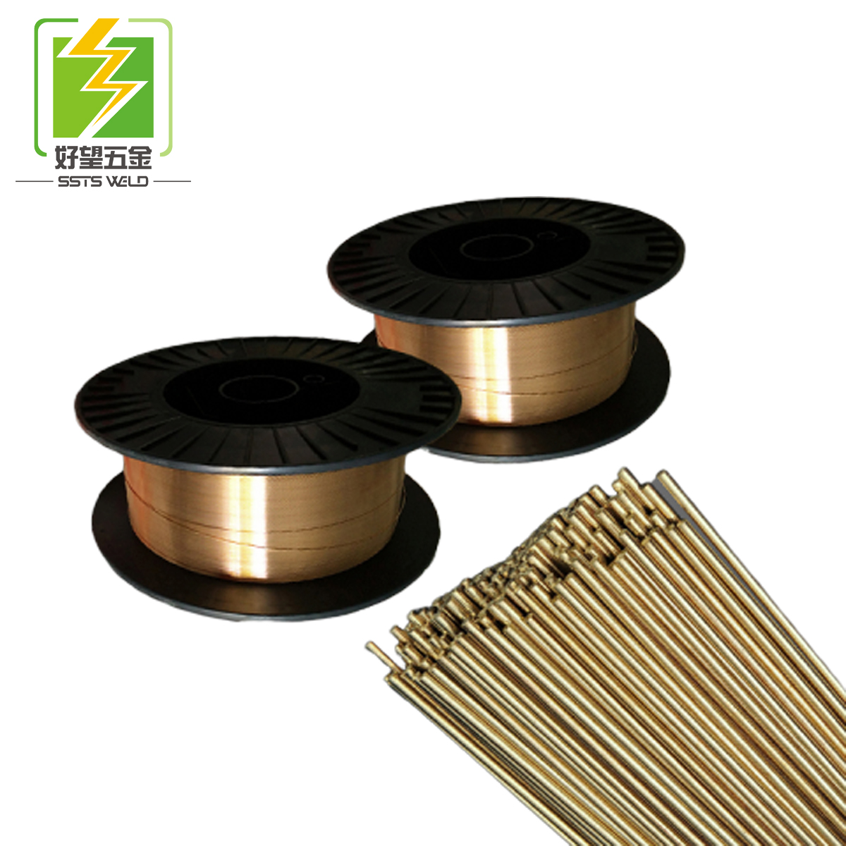 0.6mm-1.6mm Co2 protect welding mig wire alloy sodler wire ER70S-6