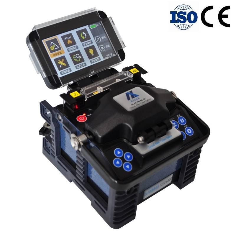 Tianjin Eloik 7s Splicing 17s Heating CE/ISO Certified Automatic Optical Fiber Fusion Splicer