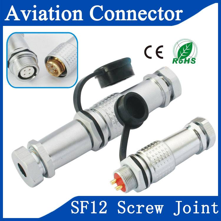 SF12 aviation communication connector