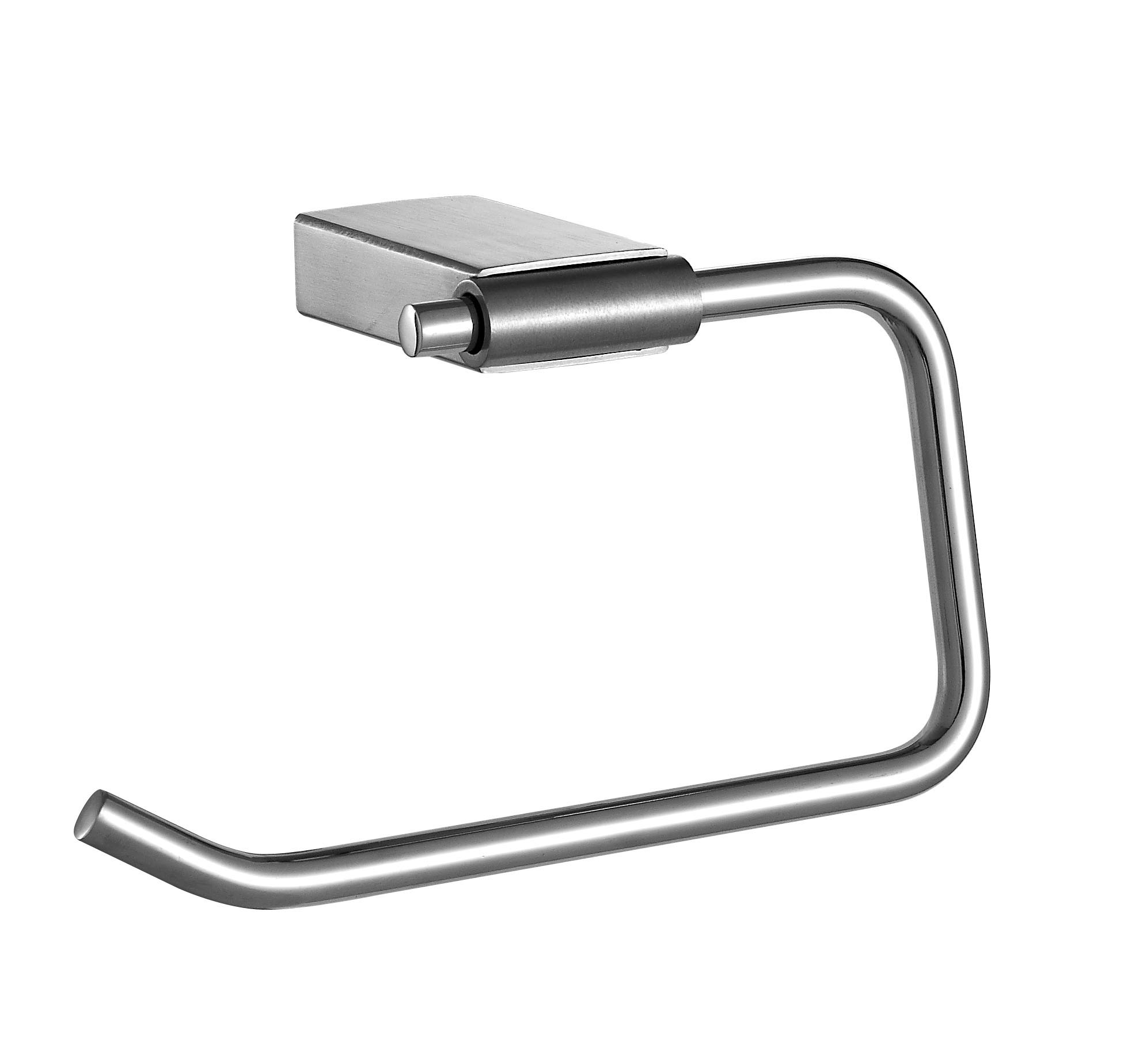 Wall Mounted Polished Stainless Steel Holder Unique Towel Rings for Bathroom