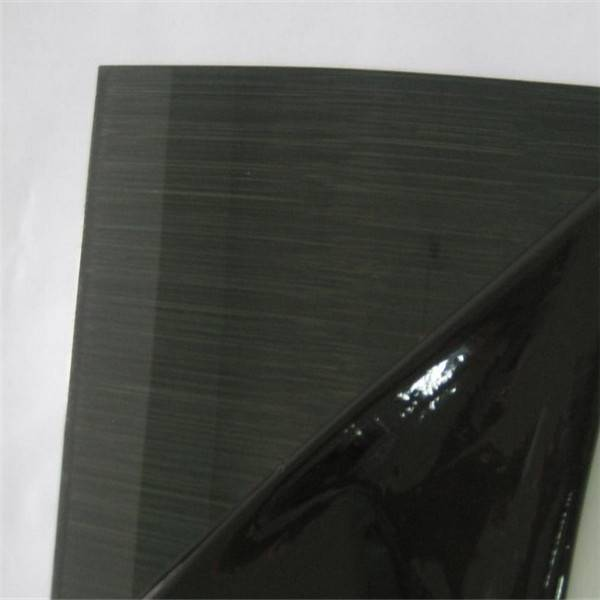 Black Color Hairline Stainless Steel Sheet