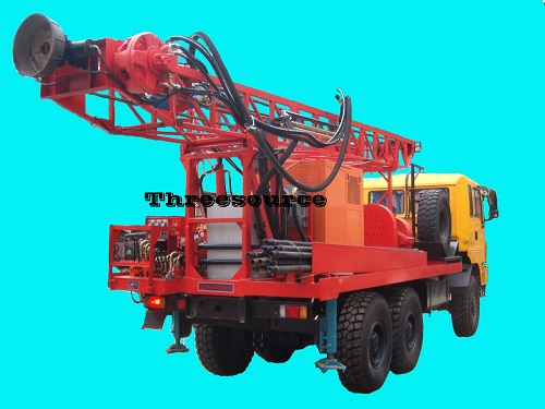 TST-150 truck mounted drilling for oil prospecting