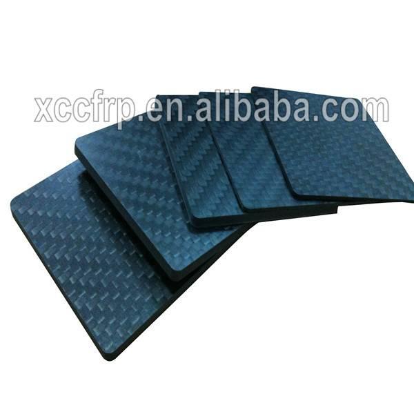 400*500mm 500*500mm 500*600mm 3k twill matte carbon fiber plate/sheet for reinforcement