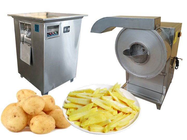 Commercial potato finger chips cutting machine for sale