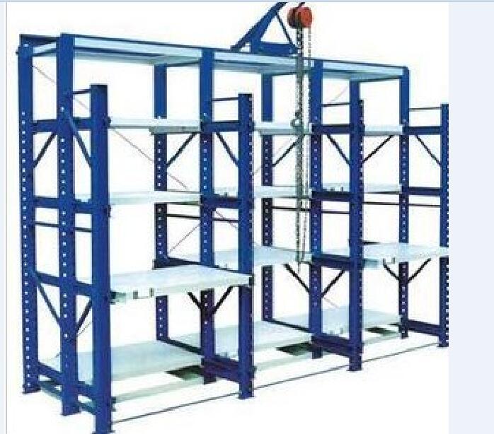 Push back racks, heavy gravity sensing racks, mould racks