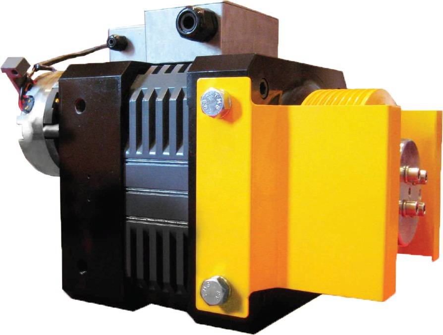 EDAM CS100 Elevator Gearless Traction Machine