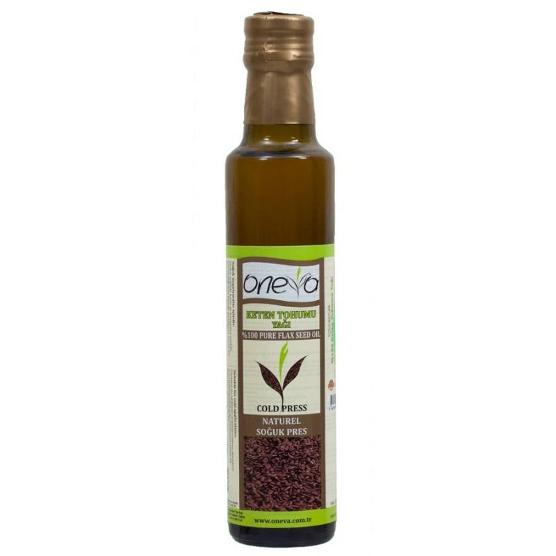 Oneva Brand First Cold Pressed Flaxseed Oil