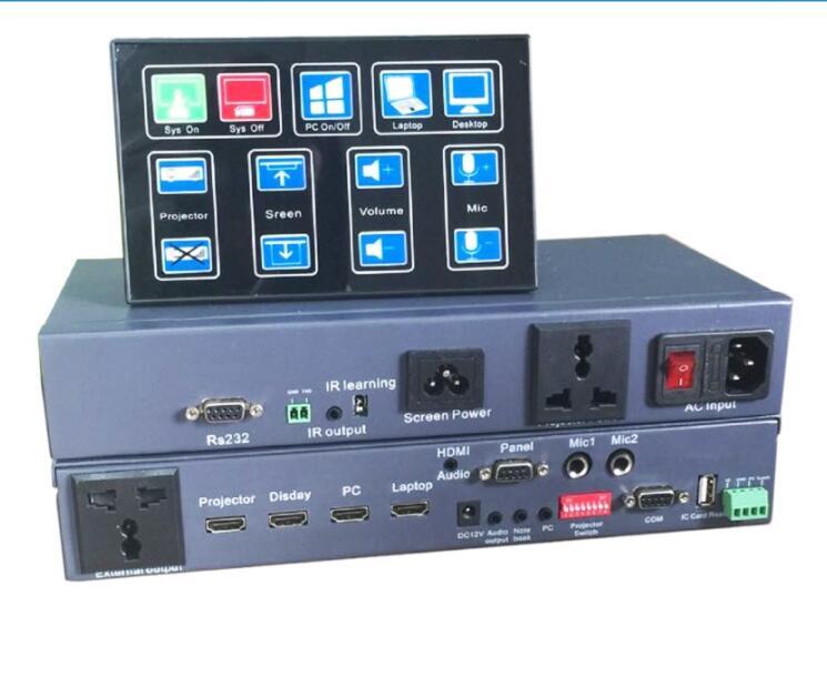 Multimedia controller HDMI Matrix 2X2 Classroom presentation signal switcher