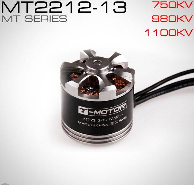 T-Motor brushless motor for multirotor MT2212