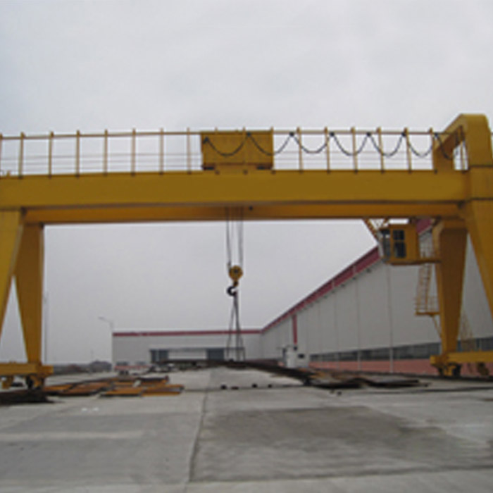 reasonable price MG model limit switch 50t electric trolley gantry crane manufacturer