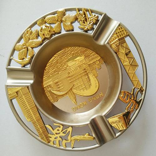 Wholesale Custom  Metal Ashtray; Zinc Alloy Ashtray
