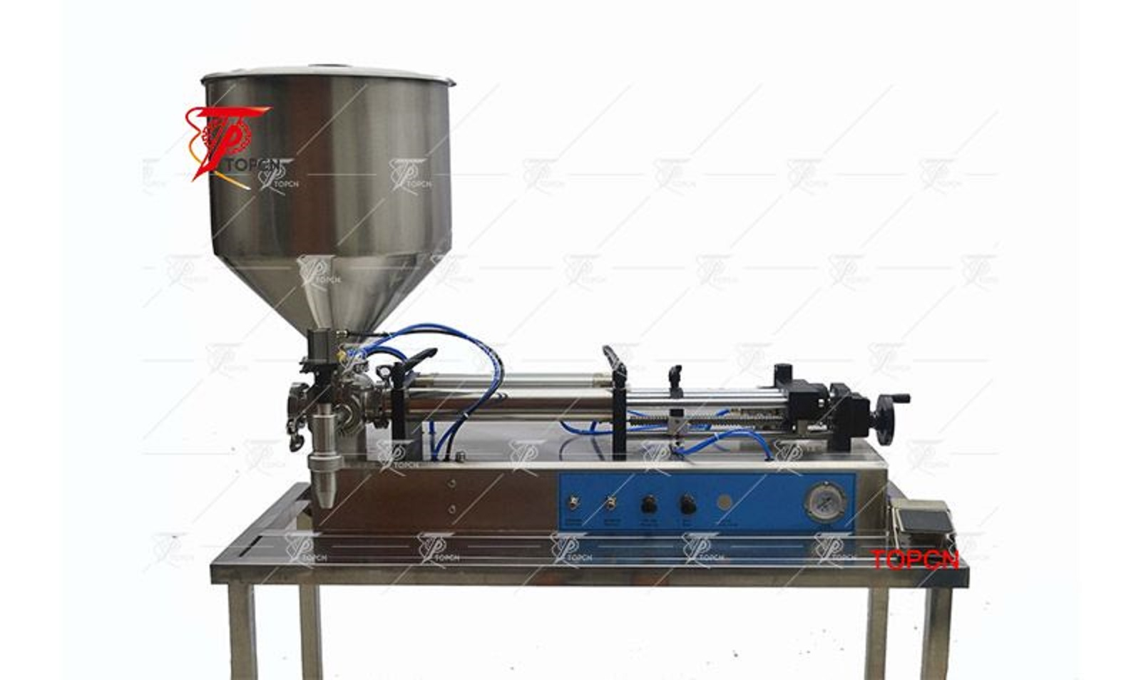 Small Cream Paste Filling Machine