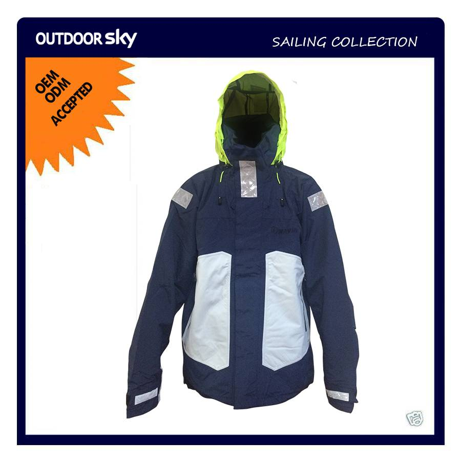 Technical Outerwear Offshore Sailing Rain Jacket