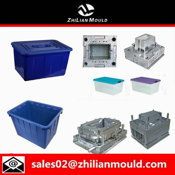 Injeciton plastic container mould maker