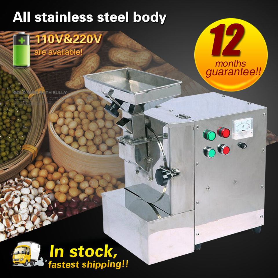 Walnuts/Peanuts/Sesame seeds/Beans Almond Milling Machine Oily Feed Grinder