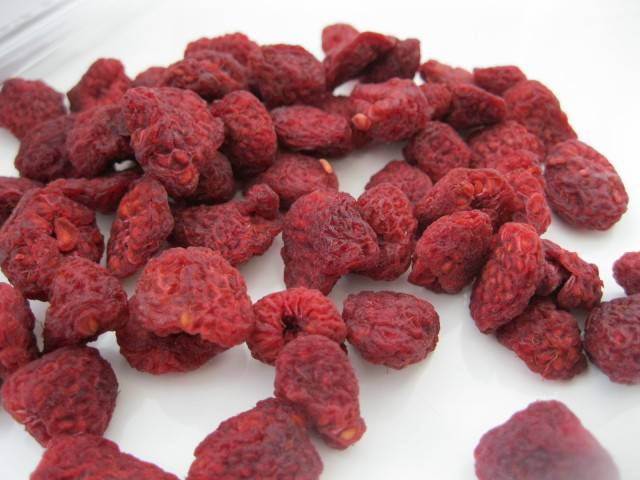 Organic Dried Raspberry