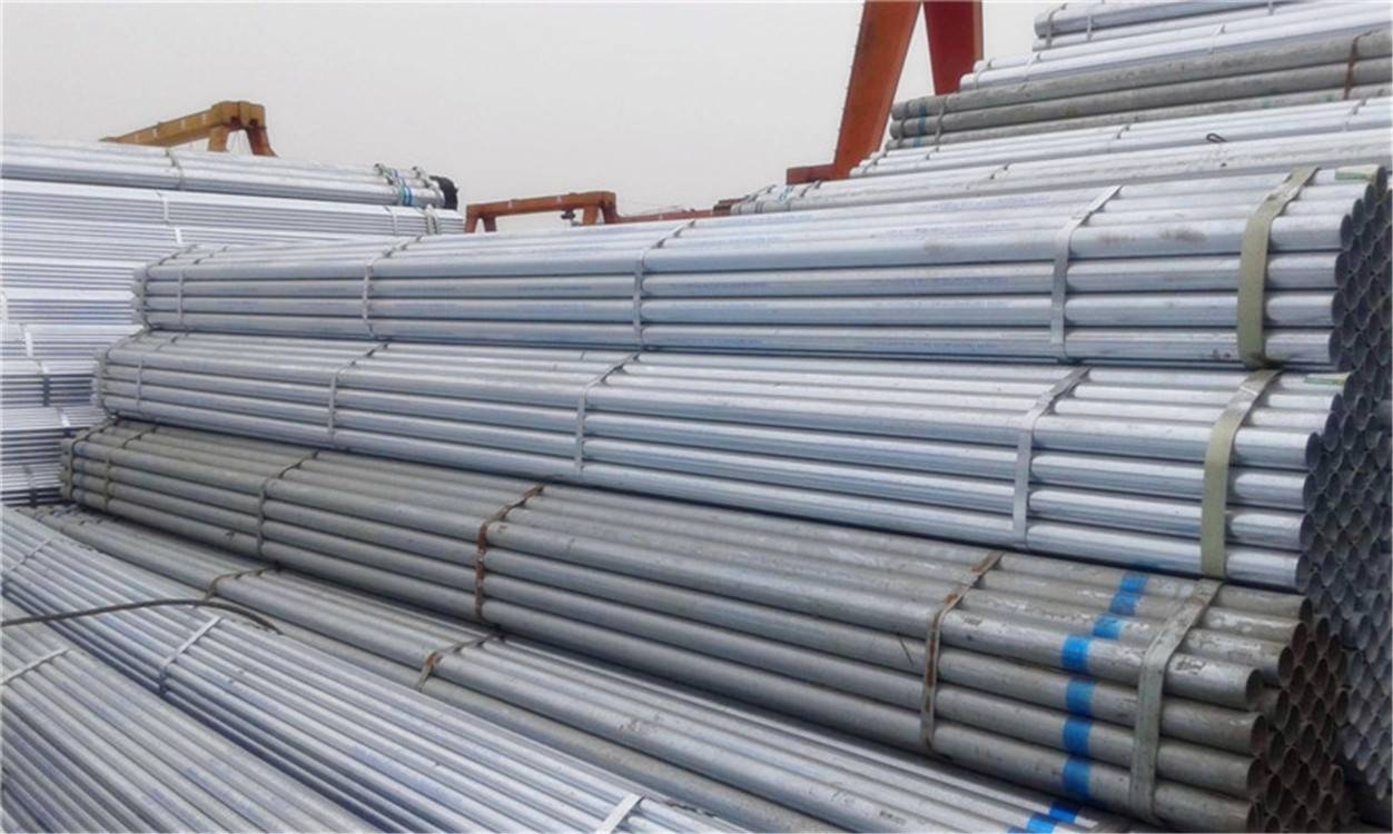 ASTM A53 Hot DIP Galvanized Round Steel Pipe (Tube)