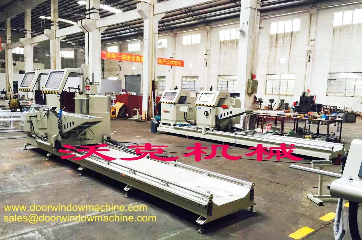 aluminum window door making machine manufacturer