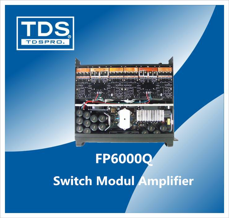 Fp 6000q 4 CH 2u Switch Modul Power Amplifier for pa system