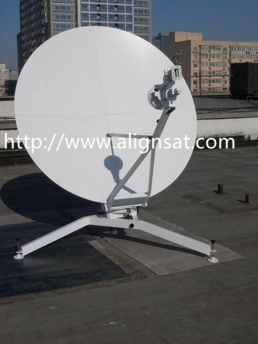 Alignsat 1.8m C -band Carbon Fiber Flyaway antenna